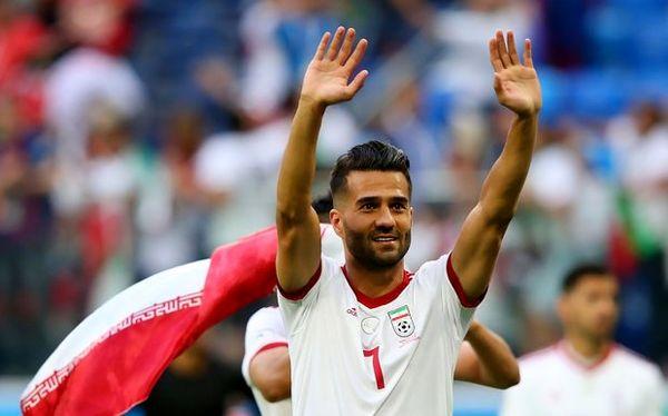 صحبتهای کاپیتان تیم ملی با بازیکنان خطخورده