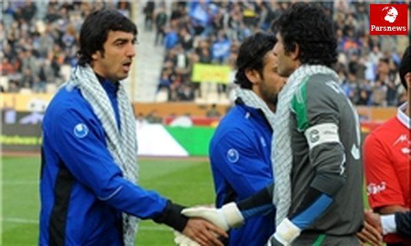 برخورد جالب رحمتی و طالبلو در کمپ تیمهای ملی