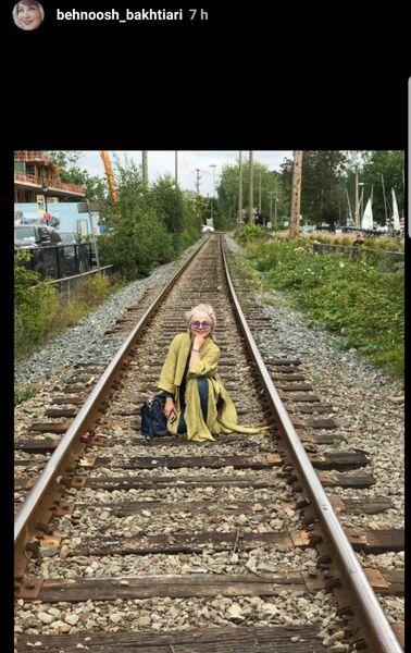 عکس خاص بهنوش بختیاری در کانادا