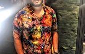جواد عزتی با تیپ بسیار عجیب + عکس
