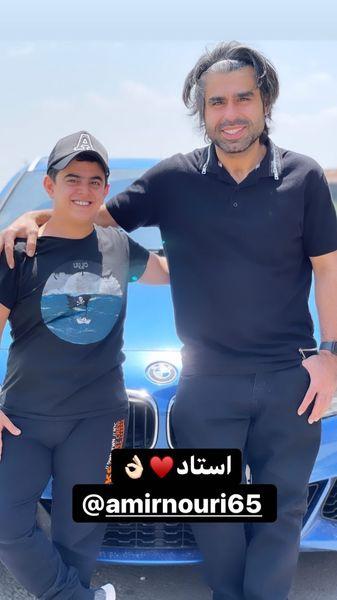 امیرمحمد و امیر نوری پس از عمل جراحی + عکس