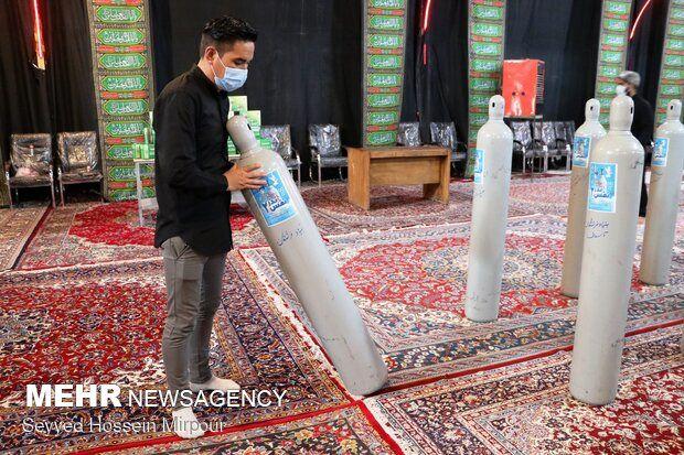 گروه های جهادی در صف مقدم کمک به بیماران کرونایی