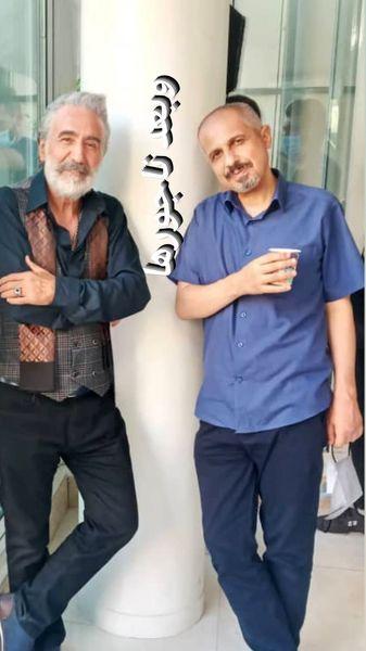 دوستی رضا توکلی و جواد رضویان در ناجورها + عکس