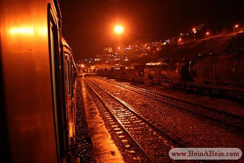 شب کنار ریل