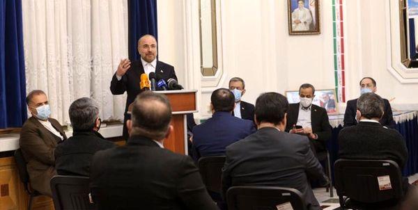 قالیباف: هاب مالی تجاری میان ایران و روسیه ایجاد شود