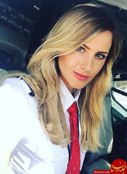 زن آرایشگری که خلبان در سن 31 سالگی خلبان شد+عکس