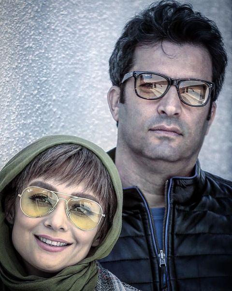عکس زوج بازیگر و کارگردان در پشت صحنه دل