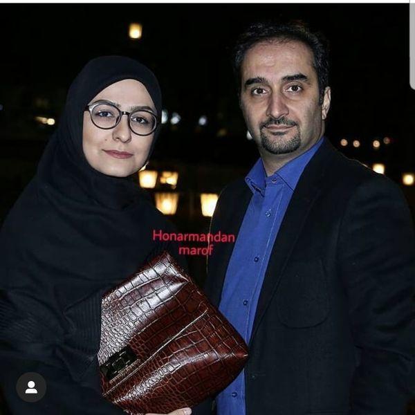 نیما کرمی در کنار همسرش + عکس