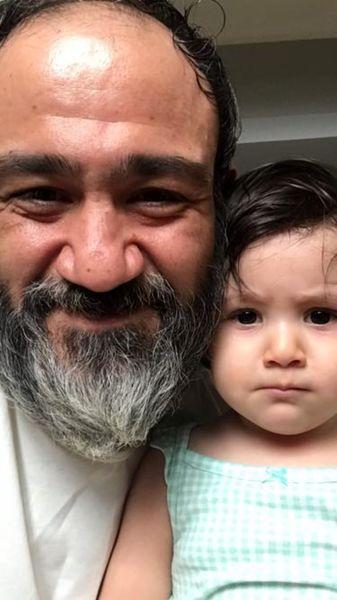 سلفی پدر دختری مهران غفوریان + عکس