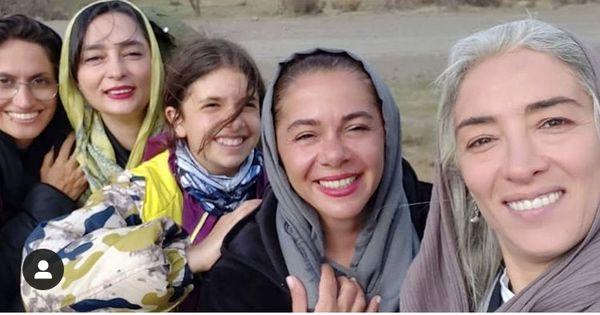 پانته آ پناهی ها در کنار همسر بازیگر مشهور + عکس