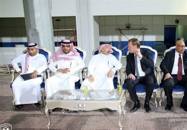 بازدید فیفا از باشگاه الهلال عربستان + عکس