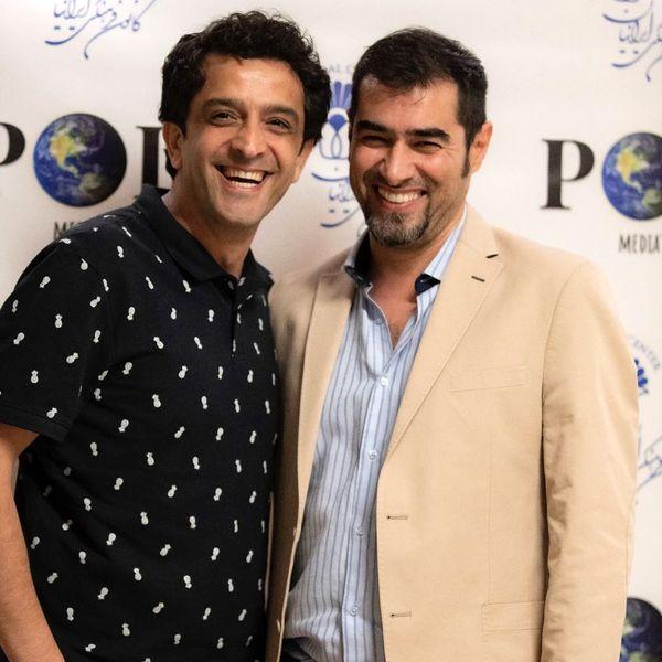 شهاب حسینی و مجید یاسر در کالیفرنیا+عکس