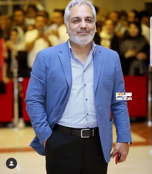مهران مدیری با ریش و سیبیل + عکس
