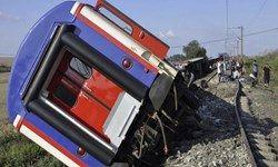 تلفات سانحه قطار در ترکیه