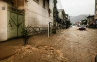 بارندگی در مناطق وسیعی از کشور
