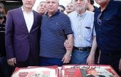 جشن تولد دو اسطوره فوتبال+عکس