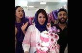 خوشحالی فاطمه گودرزی از جشن تولدش+عکس