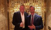 تنها حامی انگلیسی ترامپ خود را برای تمجید از او آماده می کند