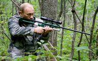 اقدام تهوع آور ۲ شکارچی قزاق با ۱۰ گرگ