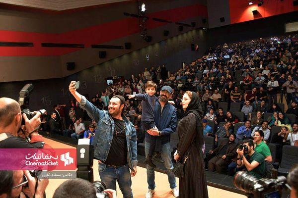 جواد عزتی و بهنوش طباطبایی در مشهد+عکس