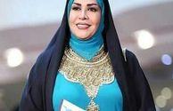استایل مجری زن پُرحاشیه در اختتامیه جشنوراه فجر/ عکس