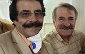 مهران رجبی در کنار اسطوره صدای ایران + عکس