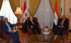 دیدار وزرای خارجه عراق و اردن با همتای مصری