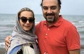 برزو ارجمند و همسرش در شمال + عکس