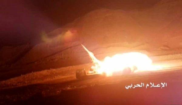 حمله موشکی نیروهای یمنی به مواضع مزدوران سعودی در جیزان