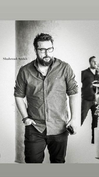 استایل ساده محسن کیایی + عکس
