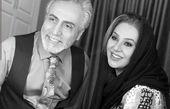 نسرین مقانلو و همسرش + عکس