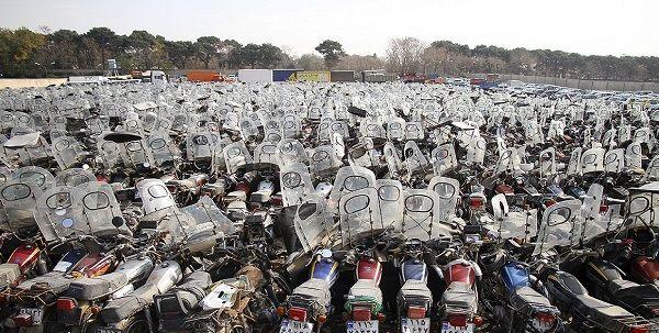 جزئیات و روند اجرای طرح ساماندهی موتورسیکلتهای رسوبی