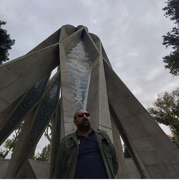 مهران احمدی در نیشابور + عکس