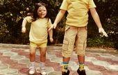 بچه های بامزه مصطفی کیایی + عکس