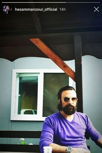 حسام منظور با استایلی جدید+عکس