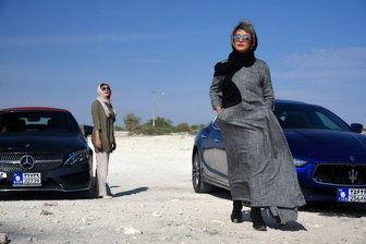 سلفی متفاوت «مریلا زارعی» و «هانیه توسلی» /عکس