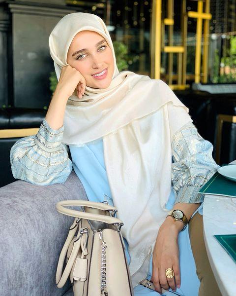 تیپ ملیح و زیبای عروس سفیر+عکس