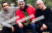 مازیار فلاحی در جمع دوستانش + عکس