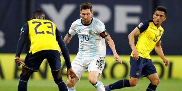 انتخابی جام جهانی 2022/ آرژانتین از سد اکوادور گذشت