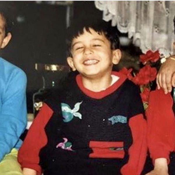 مهرداد صدیقیان در زمان کودکی + عکس