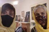 عاطفه رضوی در کنار دوستش + عکس