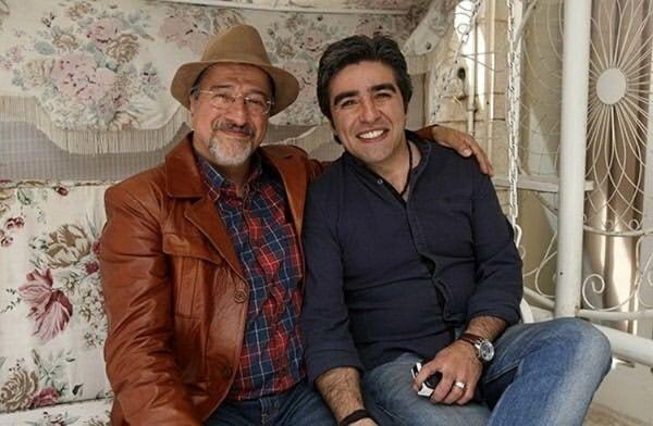 بابا پنجعلی در کنار مرحوم خشایار الوند + عکس