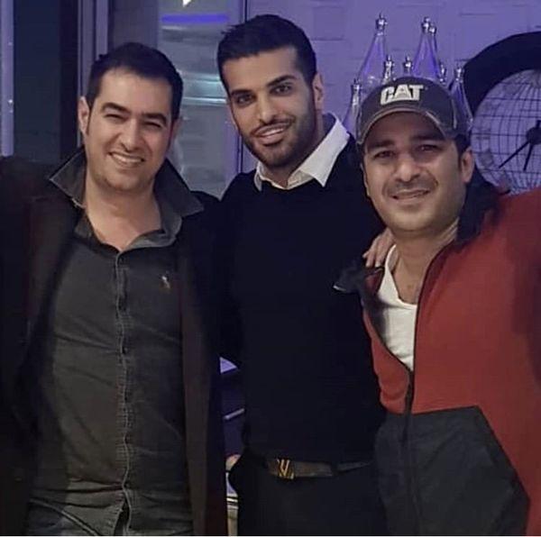 یوسف تیموری در کنار سوپر استار سینمای ایران + عکس