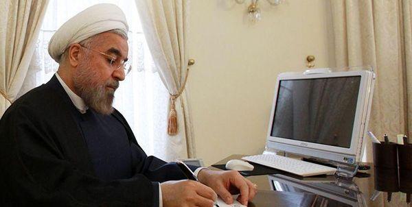 پیام تشکر روحانی از رئیسجمهور و مراجع عراق
