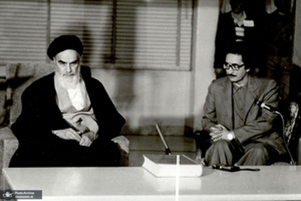 توصیه های دلسوزانه امام (ره) به بنی صدر فراری + تصاویر