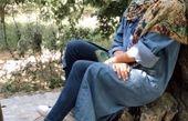 شبنم قلی خانی در باغ + عکس