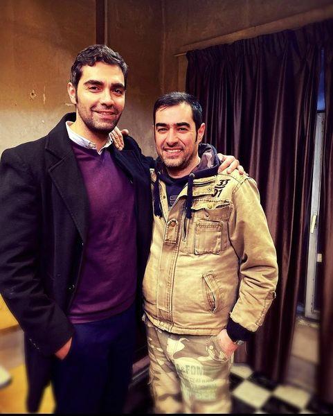 شهاب شادابی در کنار سوپر استار سینمای ایران + عکس