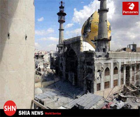 ناکامی تروریست ها در حمله به مقام حضرت سکینه