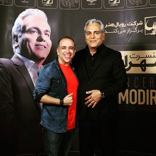کمدین خندوانه در کنسرت بزرگمرد طنز ایران+عکس