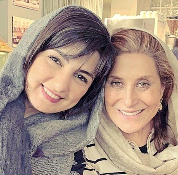 مریم شیرازی در کنار بانوی سینمای ایران + عکس